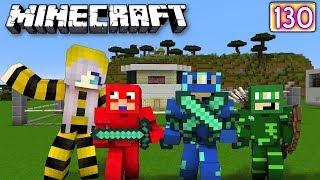 PİJAMA MASKELİLER ÖRÜMCEK BEBEK VE ÇETESİ SARI KIZI BULDU - Minecraft Maceraları 130