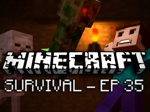 Minecraft: Survival Let's Play Ep. 35 - At Long Last