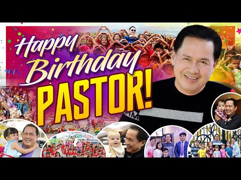 Philippine dignitaries and friends of Pastor Apollo C. Quiboloy extended their birthday wishes