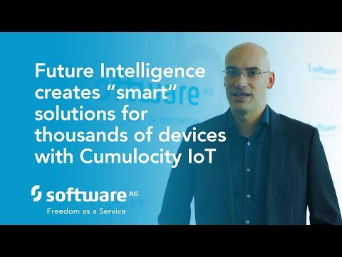 """Future Intelligence creates """"smart"""" solutions for thousands of devices with Cumulocity IoT"""
