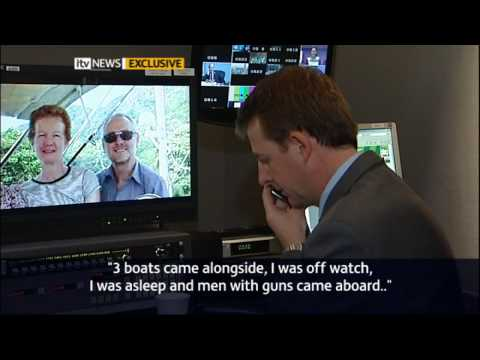 Pirate kidnap: Paul Chandler speaks to ITV News