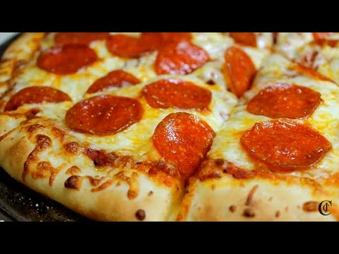 Make Your Own Pepperoni Pizza Youtube