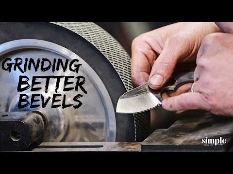 5 Tips for Grinding Better Bevels on Your Knives - Grind like a Pro!