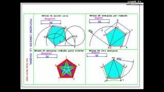 DIBUJA GARLO pentágono conocida la diagonal