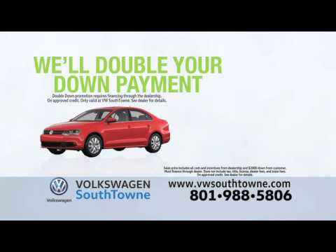 VW Southtowne Double Down Payment
