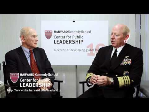 Joseph Nye & Admiral Robert Willard on leadership