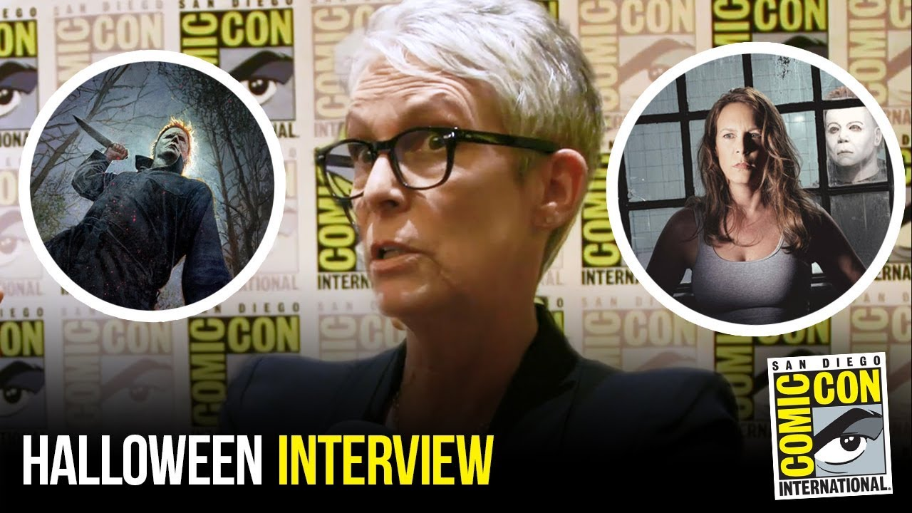 Jamie Lee Curtis Discusses Role in HALLOWEEN Sequel at Comic Con 2018