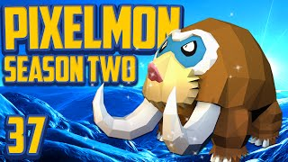 "Minecraft Pixelmon ""Mamoswine Baby!"" Gotta Catch 'Em All S2 Ep 37 (Minecraft Pokemon Mod)"