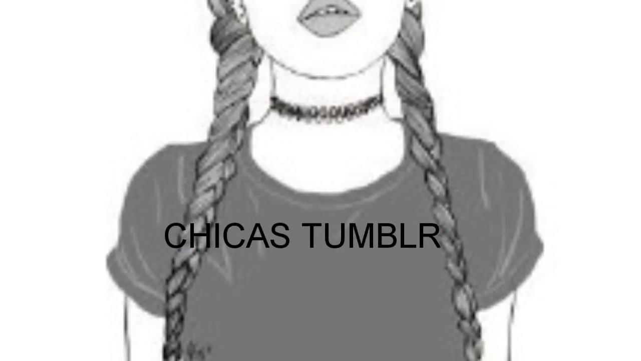 Dibujos Chicas Tumblr