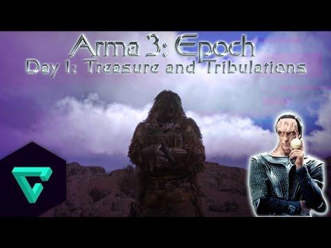 Arma 3 Epoch, Day 1: Treasure and Tribulations