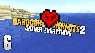Hardcore Hermits 2 | How hard is hardcore? | #6 | Minecraft HermitCraft Event