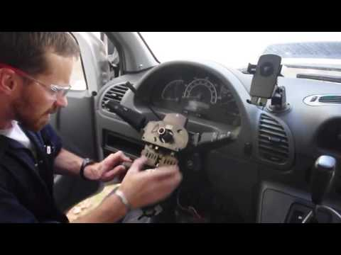 Mercedes Sprinter Multi-function Switch Removal