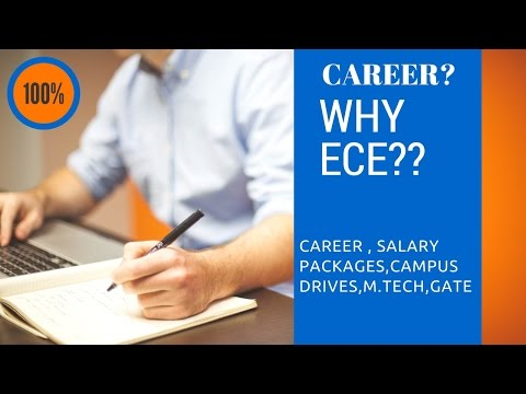 CAREERS IN ELECTRONICS AND COMMUNICATION ENGINEERING(ECE) - GATE,Mtech,Campus drives,Salary package