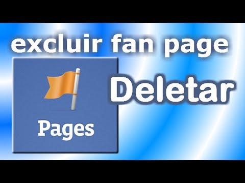 Como excluir uma Página no Facebook 2014   Fan Page