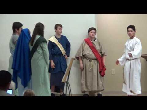 John Paul II Academy Good Friday Evening Passion Play 2017
