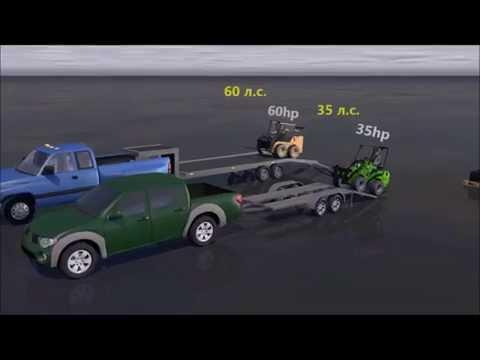 AVANT против мини погрузчиков с бортовым поворотом