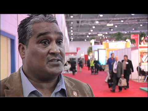 Timothy George, Executive Director, Recreation Africa Leisure Industry Group @ WTM 2010