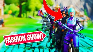 *BEST DRIP* Fortnite Fashion Show! FIRE Skin Competition! Best DRIP & COMBO WINS!