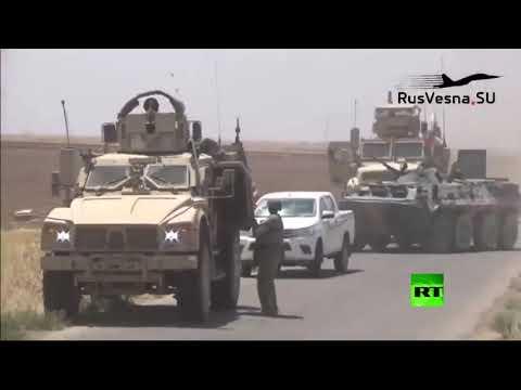 مطاردة جديدة بين القوات الروسية والأمريكية في شمال شرق سوريا