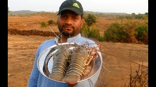 #Indian Desi Masala Stuffed Lobster BBQ | BBQ Lobster on the Grill Reciepe | How to Make