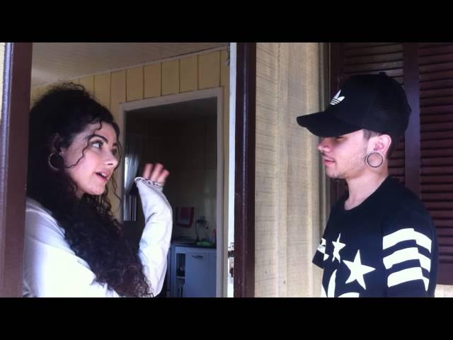 BRIGA DE CASAL MÚSICAL (Lip sync conversation) - Especial 50mil