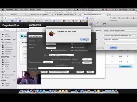 MacMiner: Mining dogecoin on OS X