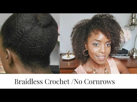 Best BRAIDLESS CROCHET Afro Kinky Crochet Braid Hair