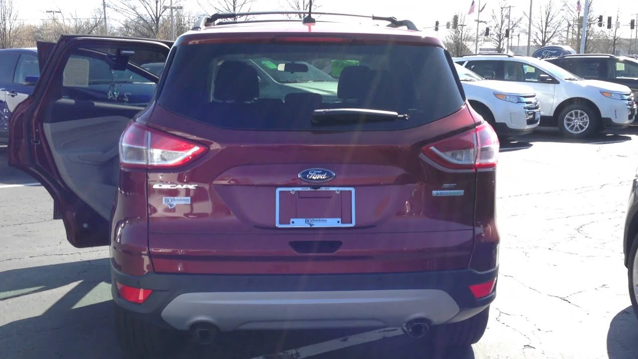 2017 Ford Escape Wildwood Missouri Chesterfield Pacific Bo Beuckman Quality