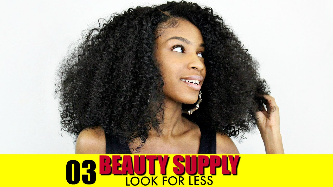 How To Blend Natural Hair With Curly Extensions Synthetic Beauty