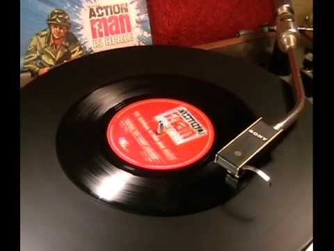 ACTION MAN - 'The Official Action Man March' + 'Battle Sounds' - 1966 45rpm