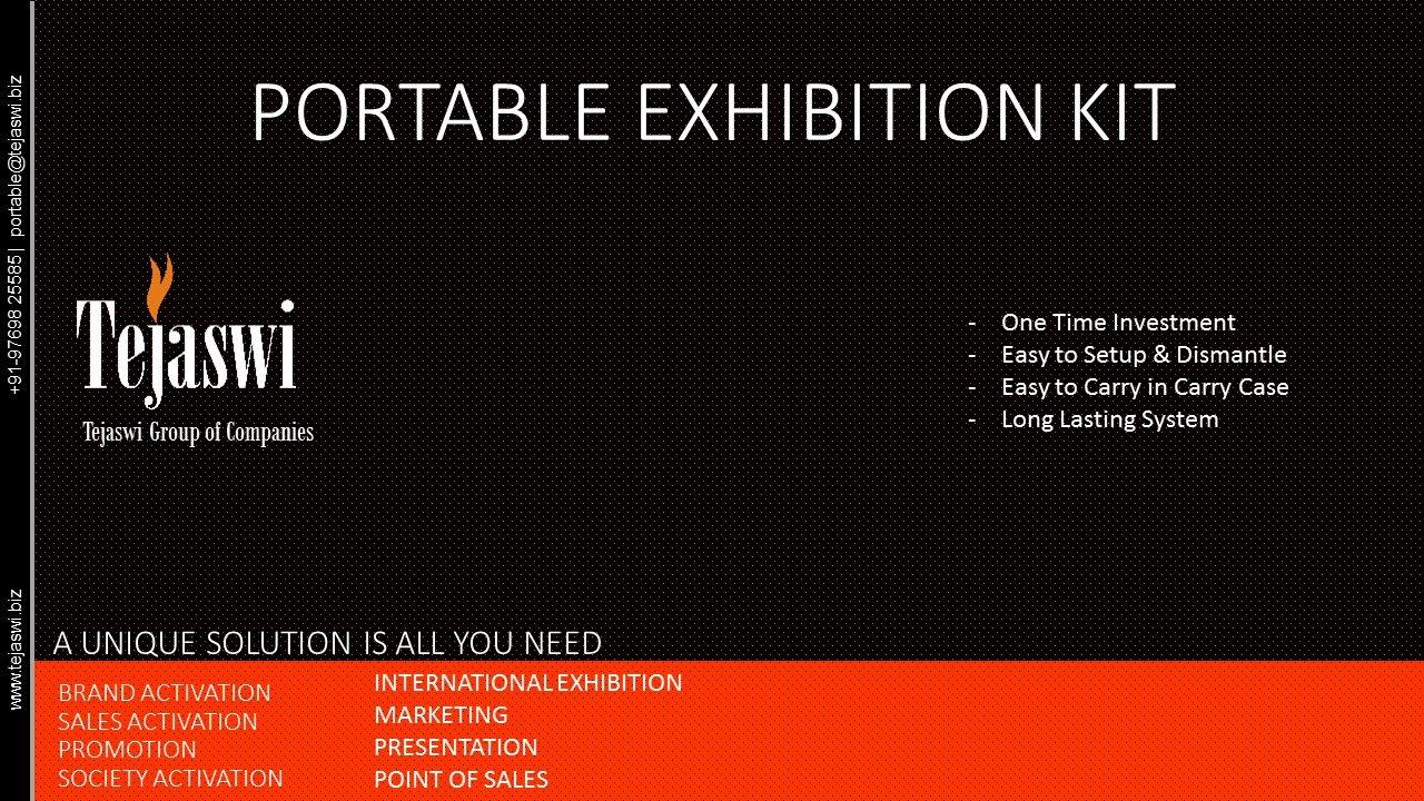 Portable Exhibition Kit, Portable Exhibition Stall, India