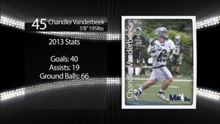 Chandler Vanderbeek 2013 Lacrosse Highlights (Committed to High Point University)