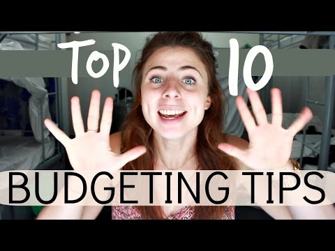 TOP 10 TIPS FOR BUDGET TRAVEL