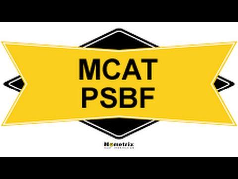 Free MCAT Psychological Social & Biological Foundations Study Guide
