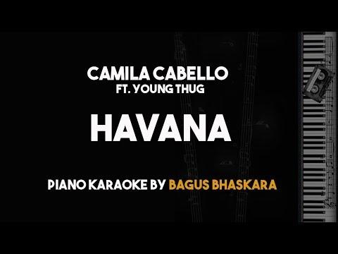 Havana - Camila Cabello (Piano Karaoke) ft. Young Thug
