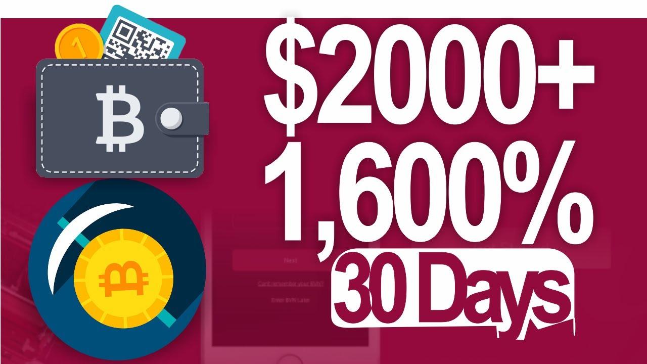 2 kriptovaliuta, kad gautumėte 00 per mažiau nei 30 dienų!