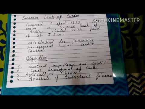 Structure of banking sector :- reserve bank of India in hindi and simple language