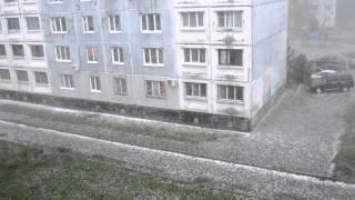 Град в городе Междуреченск 14.08.2012