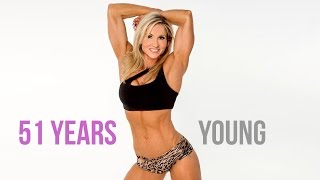 Incredible Fitness woman Kimberly Howell Blankenship with age 51