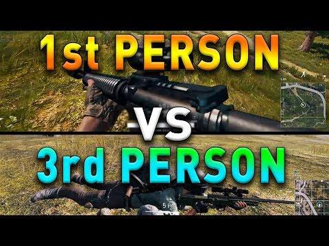 FIRST PERSON VS THIRD PERSON - PUBG - Was ist besser ? Analyse + Dinner