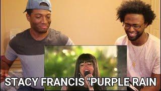 Stacy Francis - Purple Rain - #Prince THE X FACTOR 2011 (REACTION)