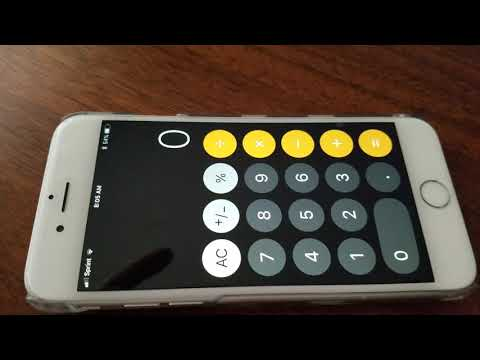 Calculating A Cubed Root On An IPhone