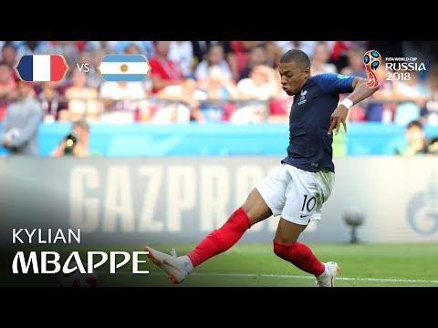 Kylian MBAPPE Goal 2 - France v Argentina - MATCH 50
