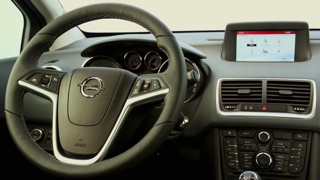 Blue Opel Meriva Interior - YouTube