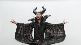 OMK! Kalen Allen Is Maleficent for Halloween