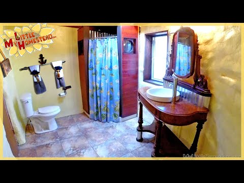 The Family Builds Earthbag Bathroom Addition To Main House | Complete Full Version Movie