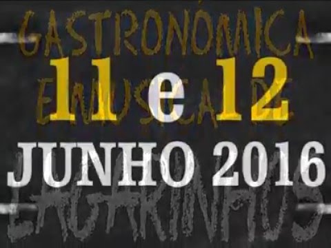 III Feira Gastron e Musical Assoc Lagarinhos 2016