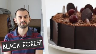 homemade black forest cake without oven