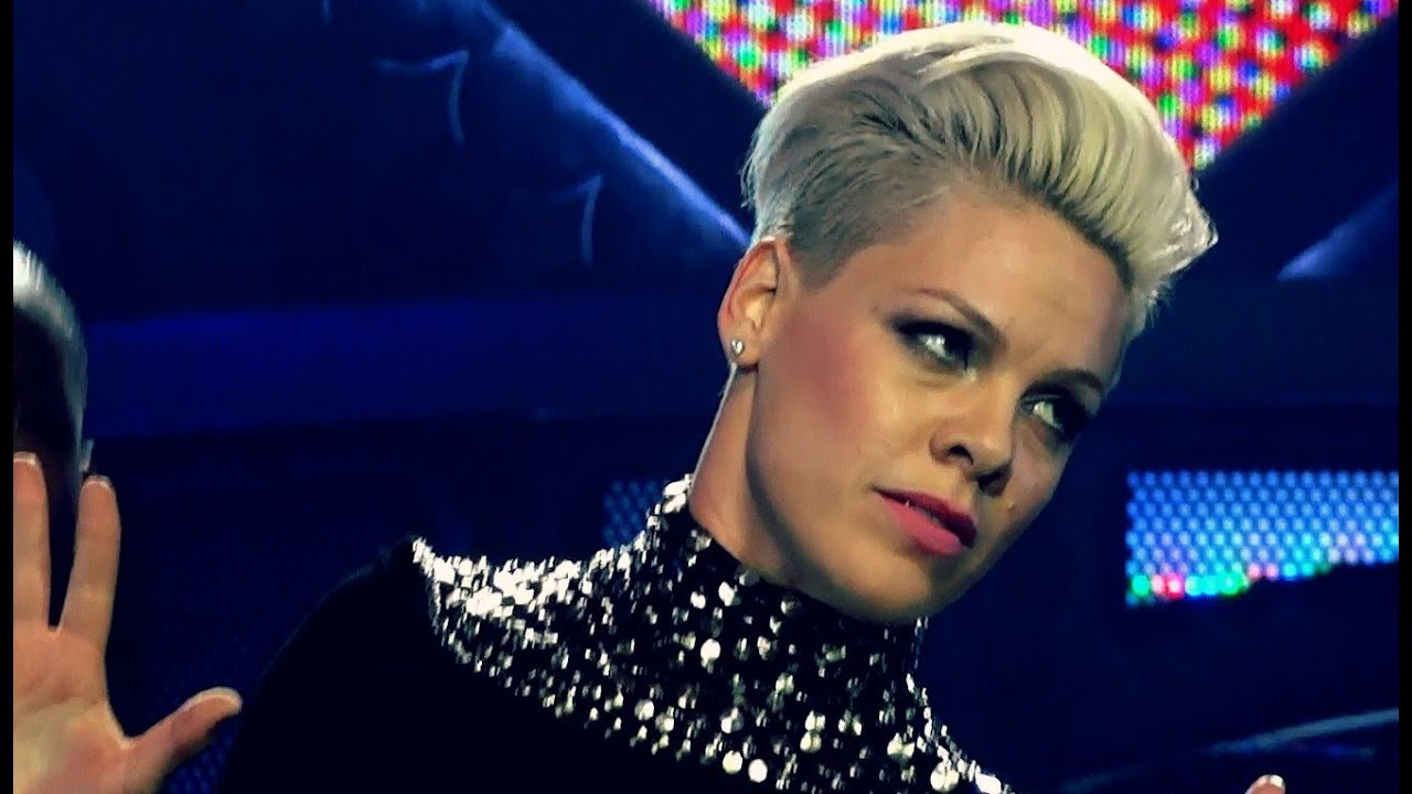P Nk Hairstyles: WE DESTROYED P!NK's HAIRSTYLE ! ♥