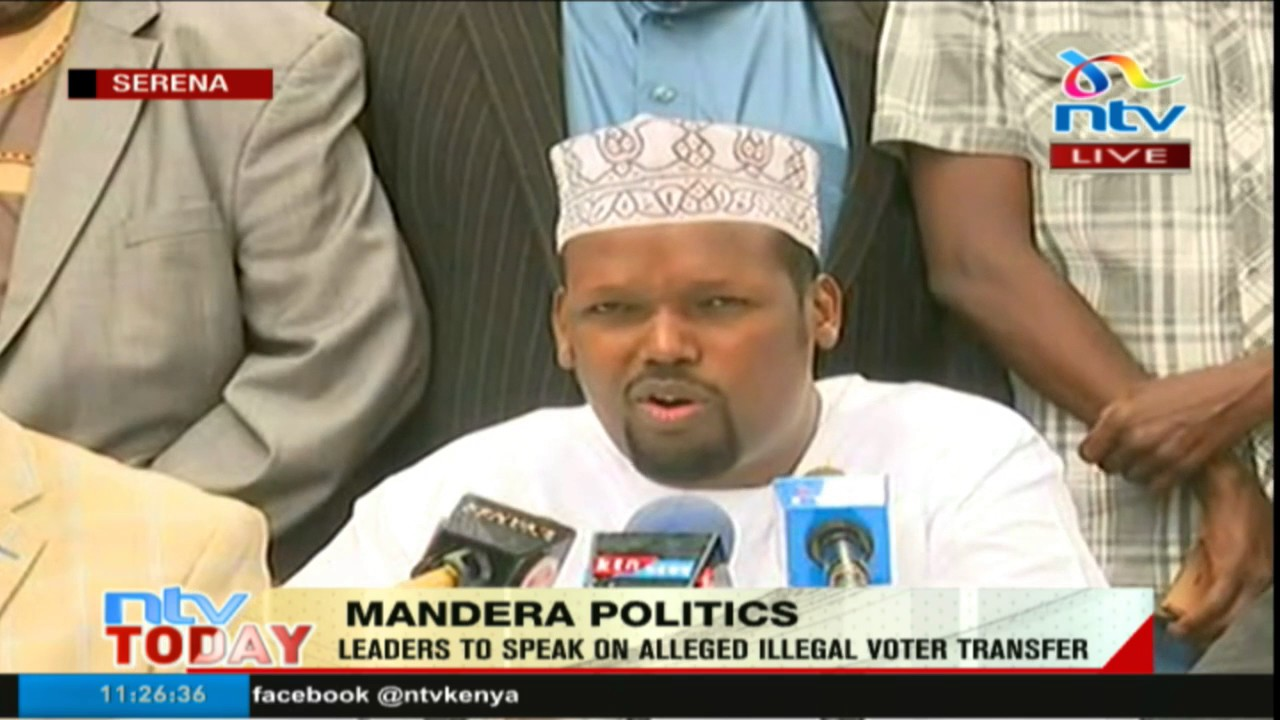 Mandera Jubilee leaders quash EFP party's claims of illegal voter transfer